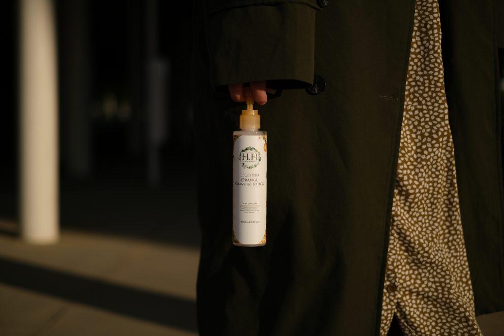HH卵磷脂橙果卸妝乳